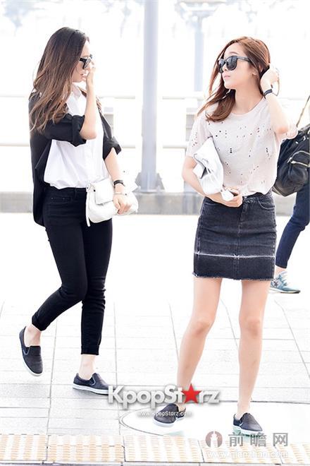 齐齐出发从仁川机场前往美国洛杉矶参与奢华鞋履品牌