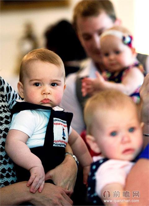尤其是可爱的萌宝乔治小王子更是深得民众的喜爱