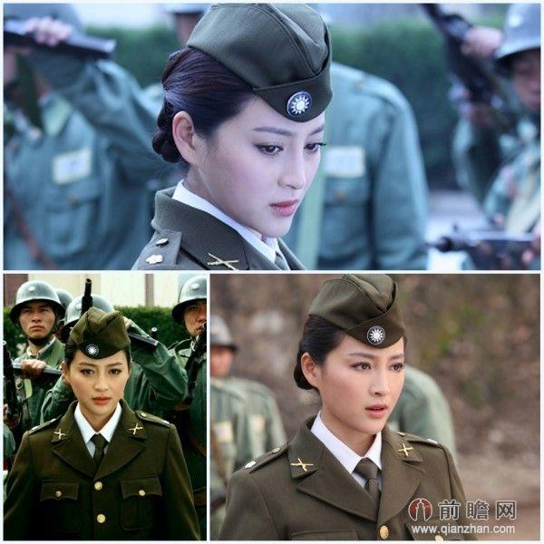 特种兵之火凤凰女兵英姿飒爽 盘点女星军装造型图片图片