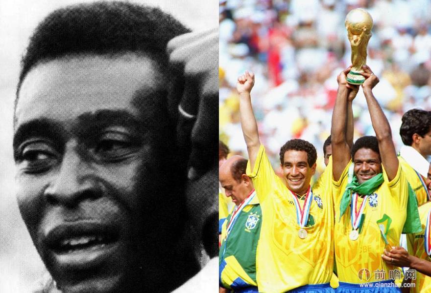 回顾世界杯足球之国巴西桑巴军团的历史巨星图片