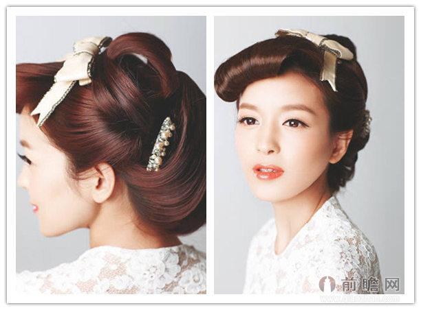 6款中式古典新娘发型 温婉端庄做最美新娘