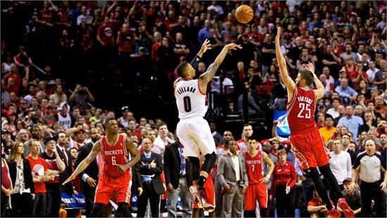 利拉德绝杀火箭视频欣赏 盘点NBA季后赛经典