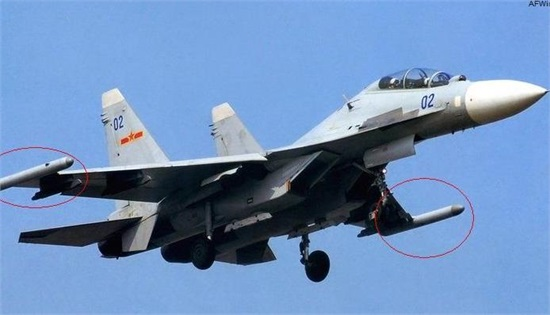 中国 东海/歼16战斗机搭霹雳13战力惊人可在东海完胜日机