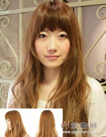 日系长卷发流行发型 气质迷人甜美女神范