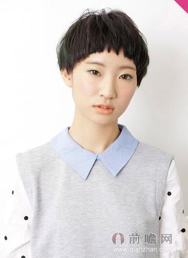 齐刘海短发清凉减龄 可爱甜美修脸型