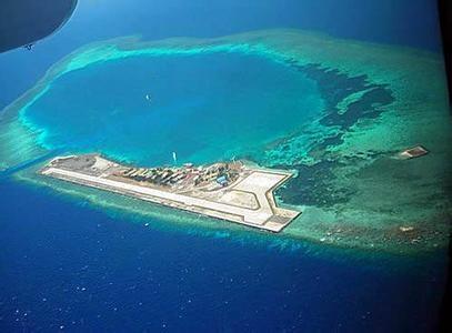 是南沙群岛第6大的岛屿