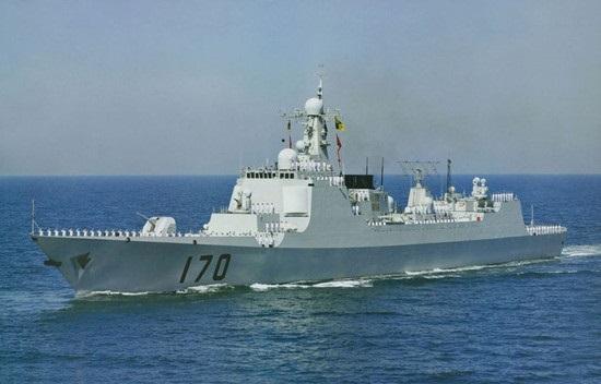 中美战舰南海再次遭遇:中国海军王牌军舰被美军跟拍