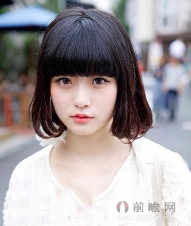日本韩国欧美短发发型