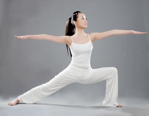 坐姿瑜伽矢量图