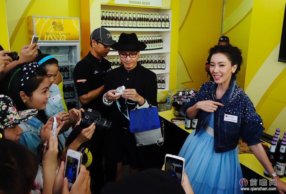 泰国收视女王金喜善亮相昆明