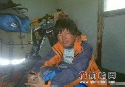 小伙骑车去西藏前后照片蹿红