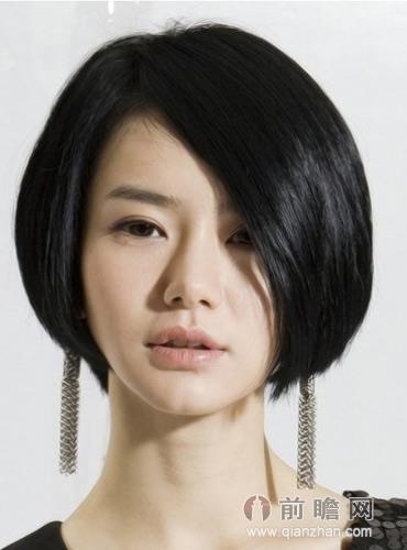 英式三七发型分享展示图片