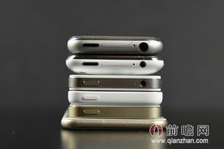 iphone6真机_iPhone6真机来袭 网爆iPhone全系列图片对比 或即将上市_前瞻财经 ...