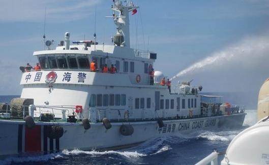 中越南海争端最新消息:中国船舰增至127艘