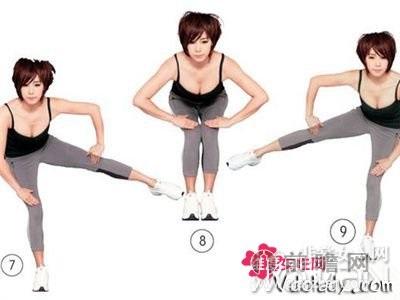 郑多燕教你如何瘦胳膊瘦小腹瘦腿图片