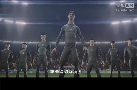 耐克最新世界杯广告《终极对决》:搏上一切 众球星大战克隆人