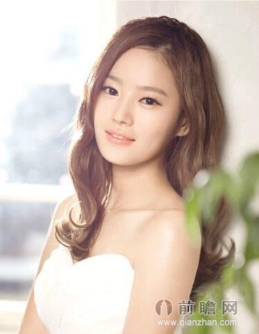 韩式日本韩国新娘盘发长发发型
