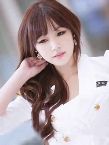 韩式女生长发发型