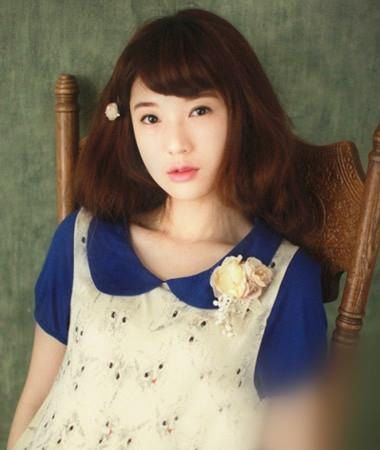 日本韩国欧美中短发烫发染发发型
