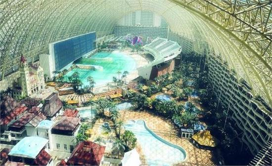 成都天堂岛海洋乐园——丰富多彩的玻璃体乐园