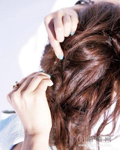 夏季懒人长发发型扎法术 甜美编发&清爽马尾