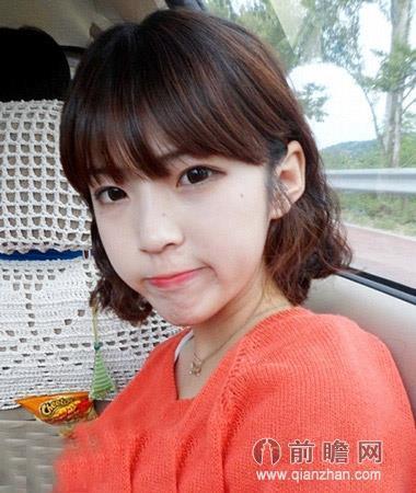 韩式清新短发发型 小脸减龄靓丽青春派