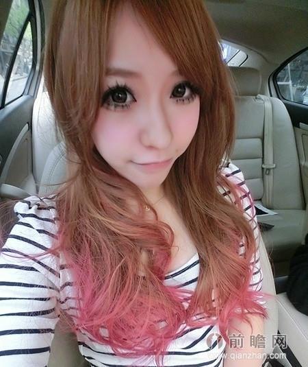 圆脸女生适合刘海发型 时尚显瘦瞬间瘦脸