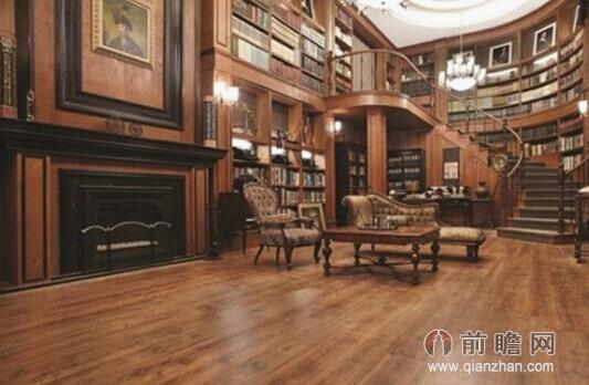 点评:华丽吊灯 欧式家具 书墙,无不彰显高贵典雅.