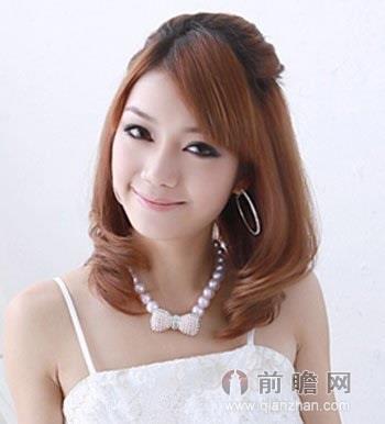女生梨花头短发发型