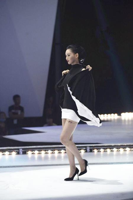 女神的新衣第一期设计大检阅 nana尚雯婕叶璇上演天桥图片
