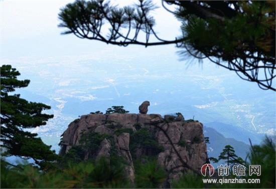 黄山风景区观瀑楼