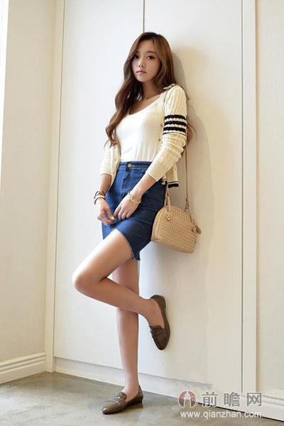 套头针织衫 长裤or短裙 实用搭配造型百变