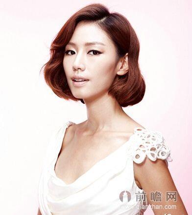 韩式短发新娘发型推荐 打造优雅气质女神