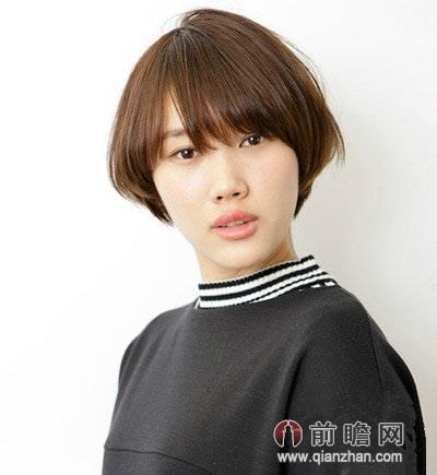 新季新发型 时尚短烫发秋季最流行