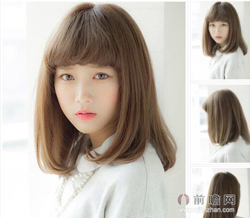 长发烫发发型技能提升气质还有点小保温的作用,近两年似乎内扣烫发更