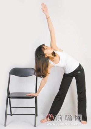 办公室瑜伽减压又瘦身 四大招减肥动作图示
