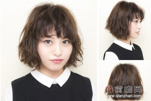 圆脸适合哪款刘海发型 空气感刘海造型最时髦