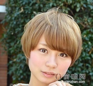 秋季女生流行什么发型 日系短发大脸显瘦