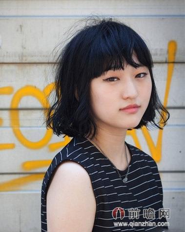 韩式波波头短发发型 时尚百搭超养眼