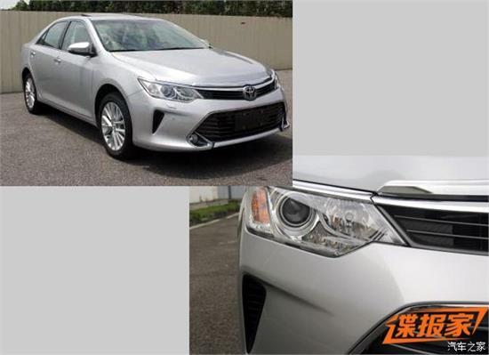 广汽丰田新款凯美瑞最新消息:外观调整 动力提升