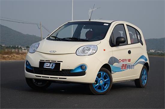奇瑞两款小型新能源汽车在沪正式上市图片