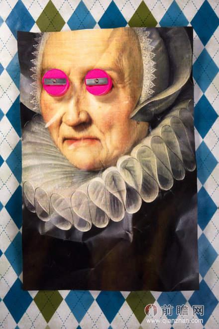 新达达主义拼贴画:忍俊不禁的新趣味_前瞻时尚 - 前瞻