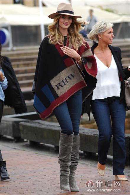 冬季牛仔裤搭配法则 欧美街拍演绎经典基本款