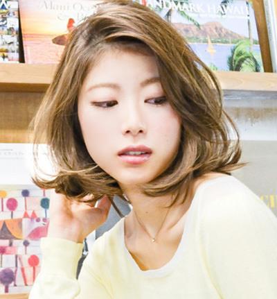 韩式中短发梨花头发型 减龄小脸甜美气质