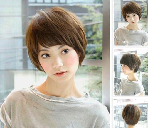 冬季个性短发发型 清新甜美有气质