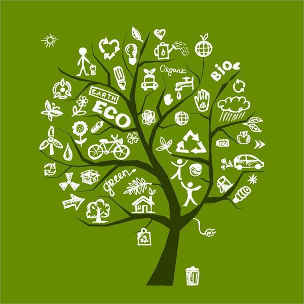 背景 壁纸 绿色 绿叶 设计 矢量 矢量图 树叶 素材 植物 桌面 600_600
