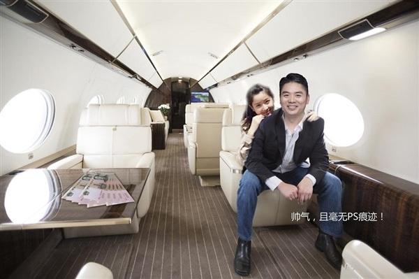 刘强东价值4亿私人飞机曝光 比马云王健林的更贵