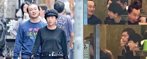 陈奕迅带老婆徐豪萦兜风吃鱼蛋粉过冬至 与路人热聊图片