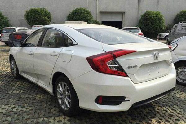 东风本田思域1.0t车型曝光 进一步拉低售价年底上市