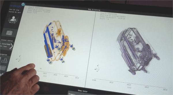 这些新型3d扫描机运用计算机x线断层摄影术(ct)来为通过扫描器的包裹